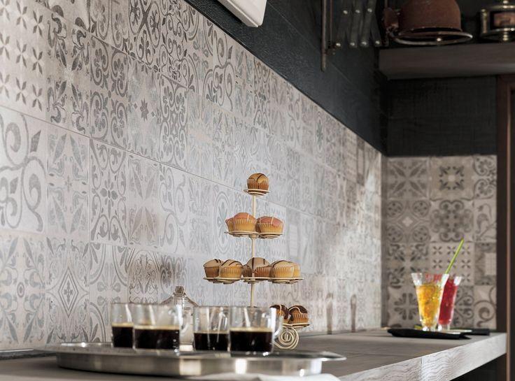 Piastrelle Cucina Decorate – Idea d\'immagine di decorazione