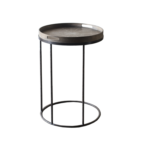 Caruana Cini Round Tray Table Small